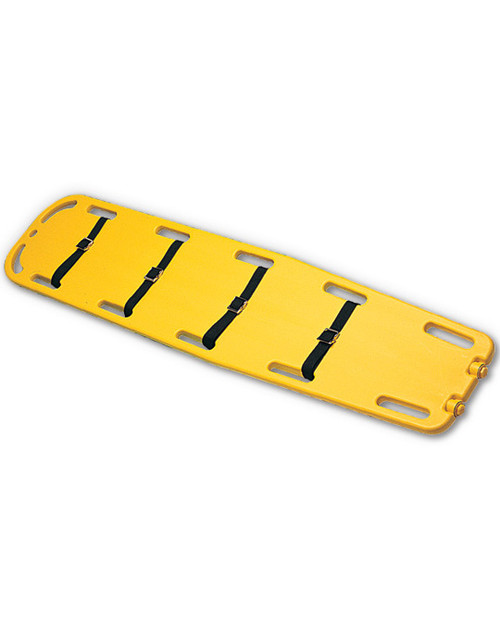 Spinal Board   Shown with Straps   Physical Sports First Aid