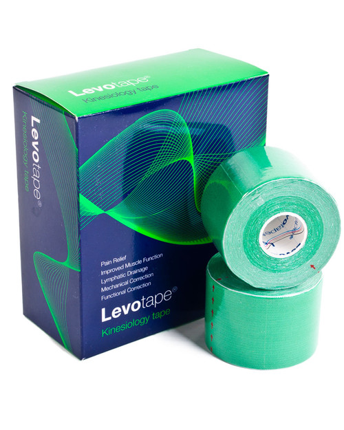 Levotape Kinesiology Tape | Box of 6 | Physical Sports First Aid