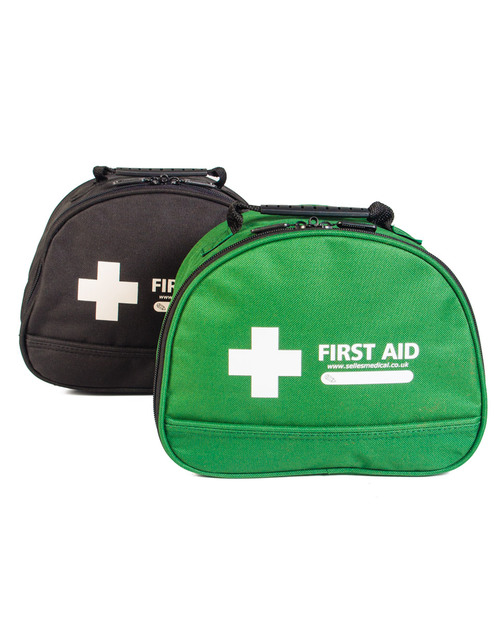 Dome First Aid Bag | Black & Green | Physical Sports First Aid