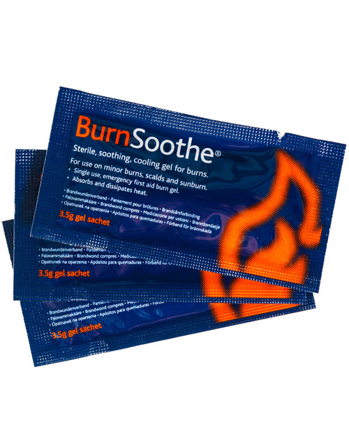 Burnsoothe Gel Sachets | Physical Sports First Aid