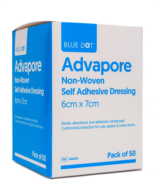 Advapore Adhesive Dressings   Pack Shot   Physical Sports First Aid