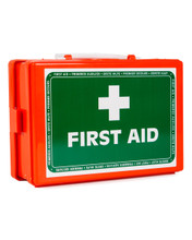 Mini Orange First Aid Box