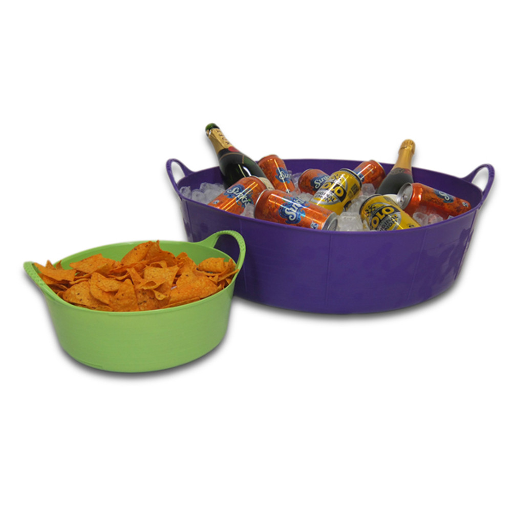 Being food grade safe and with all the bright colours, Extra Small Shallow Tubtrugs are ideal for your next party setting.