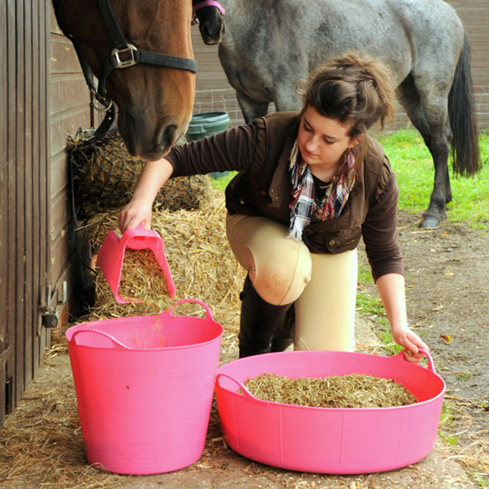 Large Shallow Tubtrugs are great to have around the stable.