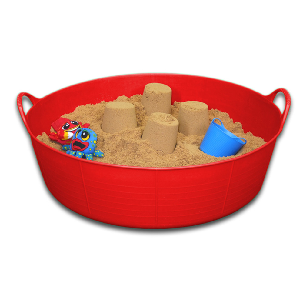 Large Shallow Tubtrugs make a great portable sand pit.
