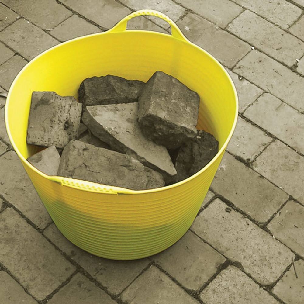 Because they can carry up to 100kg, Large Tubtrugs will come in handy around the construction site.