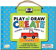 Green Start - Play, Draw and Create - Trucks