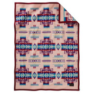 Pendleton Blanket - Chief Joseph Kids Blanket - Pink