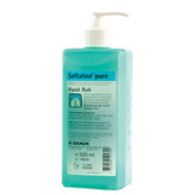 Buy Softalind Pure Hand Rub, 500ml (19039) sold by eSuppliesMedical.co.uk