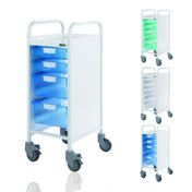 Buy Sunflower Vista 30 Trolley, 2 Single and 2 Double Trays (SUN-MPT5) sold by eSuppliesMedical.co.uk