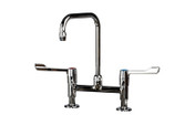 Clinical Mixer Tap (200mm projection) 200mm centres, Swan Neck Type