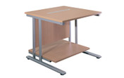 Buy Printer Table, 800mm x 800mm, BEECH (SUN-DESK10/80) sold by eSuppliesMedical.co.uk