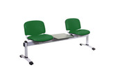 Venus Visitor 3 Seat Module, 2 Seats & 1 Table, Anti-bacterial Vinyl Upholstery - 14 Colours