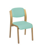 Aurora Stacking Visitor Seat, No Arms, Intevene Anti-bacterial Upholstery - 12 Colours  (Multibuy)