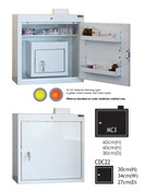 Buy MC3 Outer Medicine Cabinet 66cm(H) x 60cm(W) x 30cm(D) CDC22 Inner Cabinet 30cm(H) x 34cm(W) x 27cm(D) (SUN-MCDC322) sold by eSuppliesMedical.co.uk