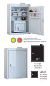 Buy MC7 Outer Medicine Cabinet 91cm(H) x 60cm(W) x 30cm(D) CDC22 Inner Cabinet 30cm(H) x 34cm(W) x 27cm(D) (SUN-MCDC722) sold by eSuppliesMedical.co.uk
