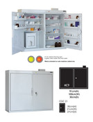 Buy MC9 Outer Medicine Cabinet 91cm(H) x 100cm(W) x 30cm(D) CDC21 Inner Cabinet 30cm(H) x 21cm(W) x 27cm(D) (SUN-MCDC921) sold by eSuppliesMedical.co.uk