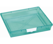 Buy Single Depth Tray  Green (each) (Sun-SMT1G) sold by eSuppliesMedical.co.uk