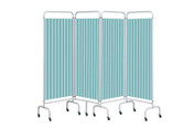 Buy Replacement Pastel Green Curtain for 4 section screen (Sun-CUR4/DCPG) sold by eSuppliesMedical.co.uk