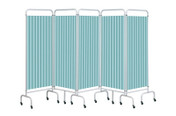 Buy Replacement Pastel Green Curtain for 5 section screen (Sun-CUR5/DCPG) sold by eSuppliesMedical.co.uk