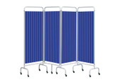 Buy Replacement Summer Blue Curtain for 4 section screen (Sun-CUR4/DCSB) sold by eSuppliesMedical.co.uk