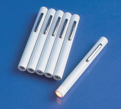 Buy Disposable Pen Torch with Blue Filter, Pack of 3 (MO95.02.010) sold by eSuppliesMedical.co.uk