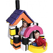 Kids Wipeable Soft Play Set (Licorice Allsorts) With Holdall
