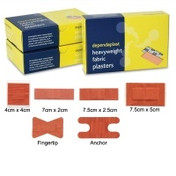 Buy Dependaplast Fabric Plasters, Assorted, Pack of 100 (REL516) sold by eSuppliesMedical.co.uk