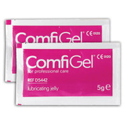 ComfiGel Lubricating Jelly 5g Sachets, Pack of 100