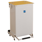 Buy Sidhil Kendal Waste Bin 50 Litre (Removable Body) (Yellow Lid) (BIN/REM/Y) sold by eSuppliesMedical.co.uk
