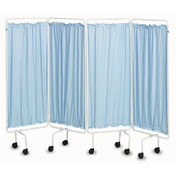 Buy Sidhil Screen Curtains (Polyester) (Blue) (SCR25) sold by eSuppliesMedical.co.uk