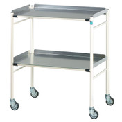 Buy Sidhil Halifax Surgical Trolley (765mm x 460mm) (1502/A/3) sold by eSuppliesMedical.co.uk