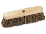 Buy Charles Bentley 18inch Broom Head Outdoor Wooden Hard Bristle Bassine Stiff 450mm (4002915) sold by eSuppliesMedical.co.uk
