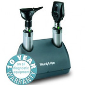 Buy Welch Allyn Elite 3.5v Desk Diagnostic Set with Throat Illuminator (71824) (71824) sold by eSuppliesMedical.co.uk