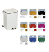 Buy Sunflower 20L Bin with Choice of Lid Colours (SUN-BIN20) sold by eSuppliesMedical.co.uk