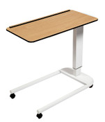 Buy Astro Over Bed Table, Parallel Base, Compact Grade laminate Top with 1 Lip, Beech Colour (SUN-OBT3P/CM/1L/BEECH) sold by eSuppliesMedical.co.uk