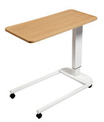 Buy Astro Over Bed Table, Parallel Base, Recessed High Impact PVC Top, Beech Colour (SUN-OBT5P/VW/BEECH) sold by eSuppliesMedical.co.uk