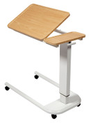 Buy Astro Over Bed Table, Parallel Base, Recessed Tilting High Impact PVC Top, Beech Colour (SUN-OBT6P/VW/T/BEECH) sold by eSuppliesMedical.co.uk