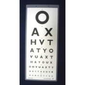Buy DVLA Standard Snellen Vision Test Chart 6m ESH Direct/Indirect 6 / 7.5, OAX (SDT-341-DVLA) sold by eSuppliesMedical.co.uk