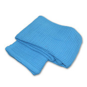 Cotton Cellular Blanket in Sky Blue (BL/005 )