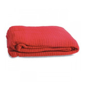 Cotton Cellular Blanket in Red