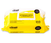 Buy Clinell Detergent Wipes, Pack of 215 (CDW215) sold by eSuppliesMedical.co.uk