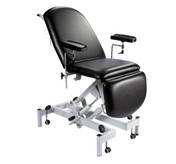 Sunflower Fusion Phlebotomy Chair with Hydraulic Height Adjustment, Gas Assisted Head and Foot Sections