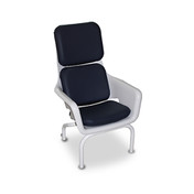 Buy Bristol Maid Patient Chair, Easy Clean with Cushions, Medium Height 470mm Seat Height (5EPC010) sold by eSuppliesMedical.co.uk