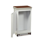 Buy Bin 75 Ltr,Fr/Op, Hands Free,Rust Free (BR145) sold by eSuppliesMedical.co.uk