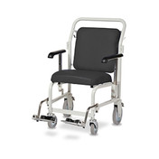 Buy Portering Chair Frontsteer, Bristol Blue Upholstery (G/205/FS/VBB) sold by eSuppliesMedical.co.uk