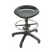 High Stool with Pu Seat