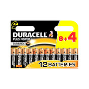 Duracell Plus AA Batteries, Pack of 12