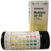 Siemens Multistix 10SG, Tube of 100 sold by eSuppliesMedical.co.uk