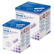 Buy Autolet Unistik 3, Extra Safety Lancets, Box of 100 (AUAT1012) sold by eSuppliesMedical.co.uk